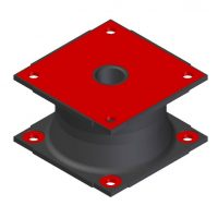 Square Pile Driving Elastomer